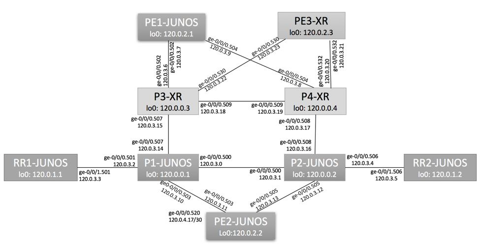 Segment Routing Interoperability - IGP Links